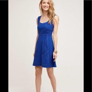 New Unworn Anthropologie Blue Dress from Maeve